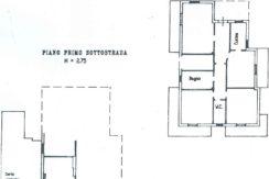 planimetria Via Burrone 16