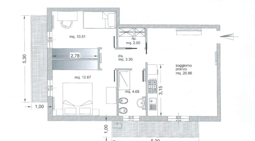 Planimetria Cod.1331